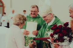 Poświęcenie domu parafialnego